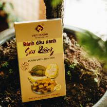 Bánh đậu xanh sầu riêng rồng vàng Việt Hương