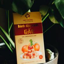 Bánh đậu xanh gấc rồng vàng Việt Hương