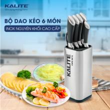 Bộ dao kéo inox 7 món Kalite KL 191