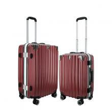 (MIỄN PHÍ SHIP) Bộ 2 vali  khung nhôm IMMAX A18 size 20+24inch cao cấp