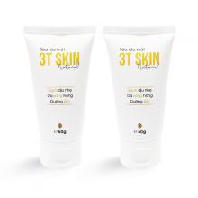 Combo 2 Sữa rửa mặt dịu nhẹ 3T Skin sạch sâu, dưỡng ẩm, da sáng mịn