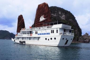 Hạ Long 2 ngày 1 đêm ngủ tàu  Halong Dragon Gold 3sao - APT Travel