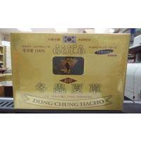 Đông trùng hạ thảo Hàn Quốc hộp giấy 2 hũ 100g (hồng sâm)