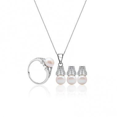 Bộ trang sức bạc Expression Like - Eropi Jewelry