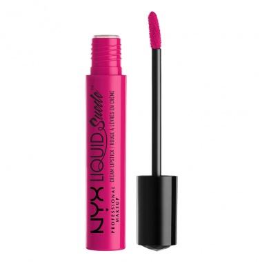 Son lì dạng kem NYX liquid suede cream lipstick LSCL08 Pink Lust