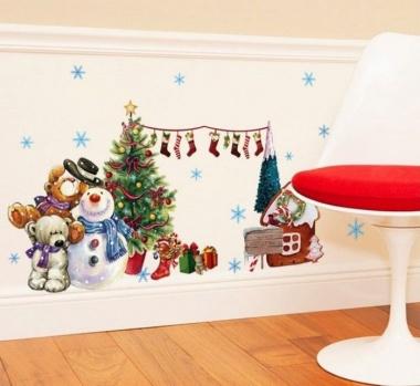 Decal dán tường Noel 5 PK369