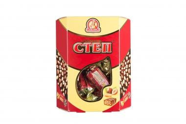 Kẹo Nga socola nhân hạt Macca Step ( CTEN ) 500G