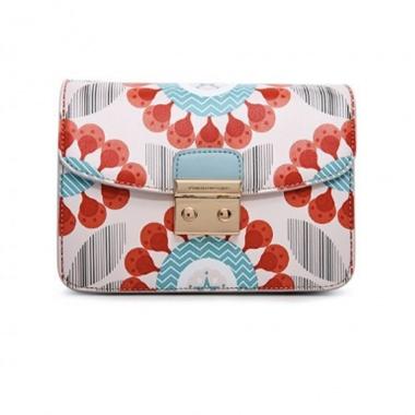 Túi hộp mini mới màu kem S167N Venuco Madrid
