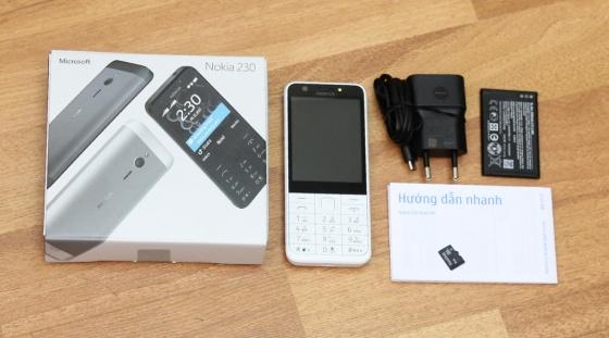 Nokia 230 - Bạc
