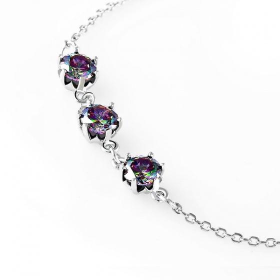 Lắc tay bạc Lilacs