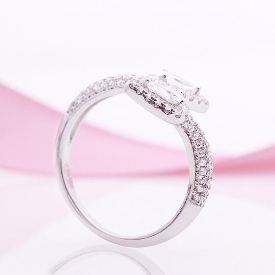 Nhẫn bạc Hiuga Love