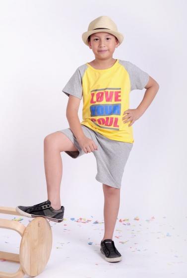 Đồ bộ thun bé trai - UKID16