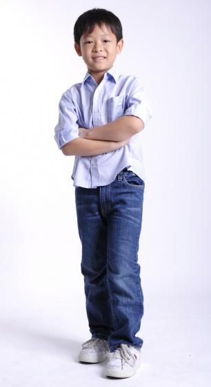 UKID22 - Áo sơ mi bé trai