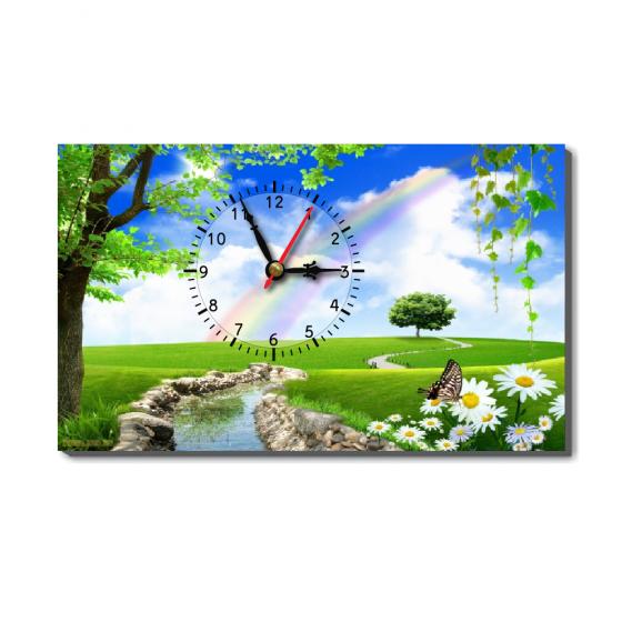 Đồng hồ để bàn Dyvina B1525-98 trong xanh