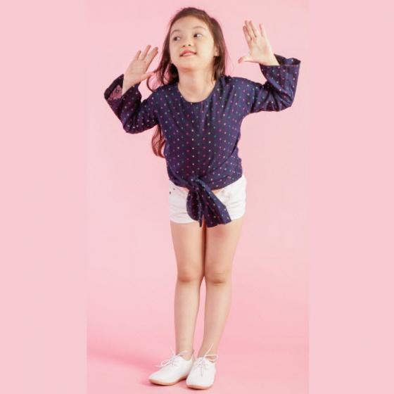UKID152 - Áo kiểu bé gái