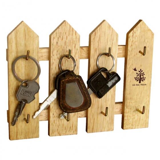 Hàng rào chìa khóa  4 thanh gỗ Đức Thành 45231