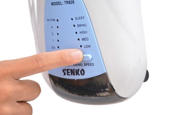 Quạt treo tường có remote điều khiển Senko TR-1628