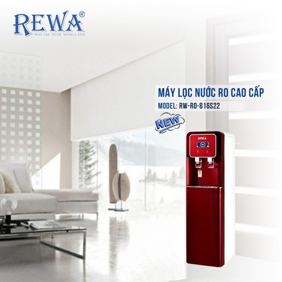Cây nước nóng lạnh REWA - RW - RO - 816