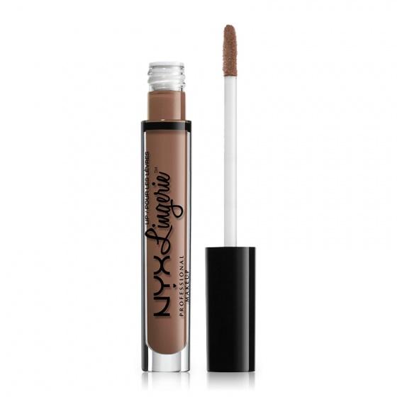Son kem lì NYX lingerie liquid matte lipstick LIPLI01 Honeymoon