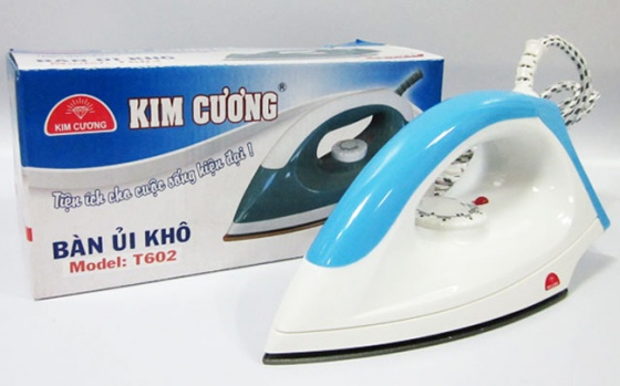 Bàn ủi khô cao cấp Kim Cương T-602