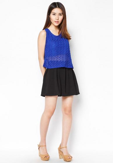 Set chân váy + áo ren sành điệu - HK 189-192