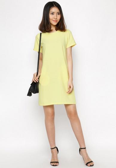 Đầm suông túi mổ cao cấp - HK 231, 232