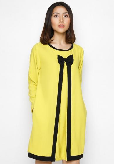 Đầm thu đông phong cách Hàn Quốc
