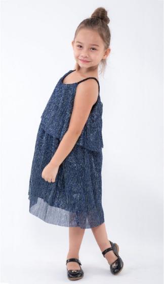 UKID165 - Đầm bé gái( xanh)