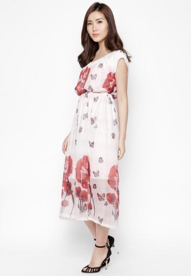 Đầm maxi cá tính mùa hè - HK 356