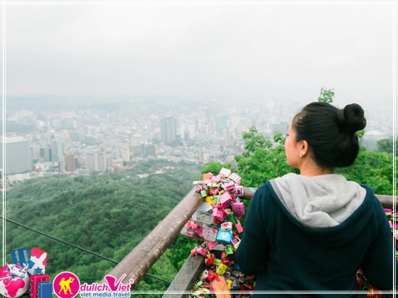 Du lịch Hàn Quốc 4 ngày 4 đêm bay Vietjet Air giá tốt dịp hè 2017