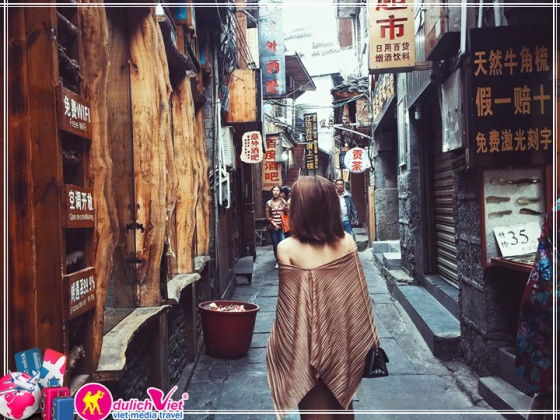Du lịch Trung Quốc 6 ngày 5 đêm Trương Gia Giới - Phượng Hoàng Cổ Trấn