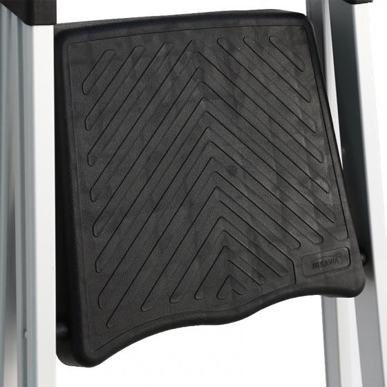 Thang nhôm ghế 3 bậc Nikawa NKP-03 tải trọng 150kg có khay để đồ tiện dụng