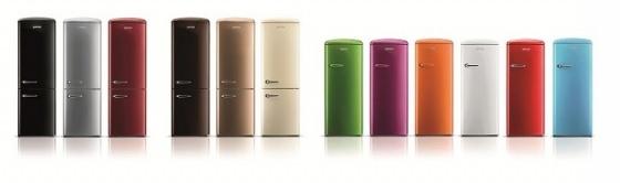 Tủ lạnh cao cấp Gorenje Retro ORB152CH