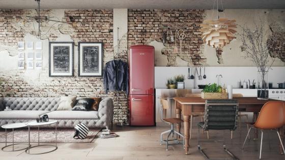 Tủ lạnh cao cấp Gorenje Retro NRK60328OR
