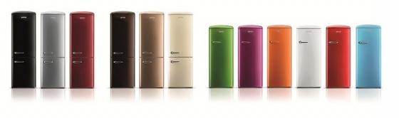 Tủ lạnh cao cấp Gorenje Retro ORB152RD