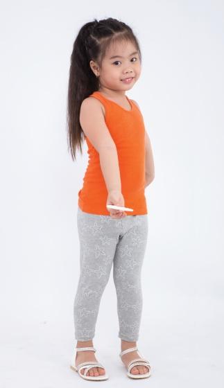 Quần leggin bé gái Ugether UKID155 (Xám)