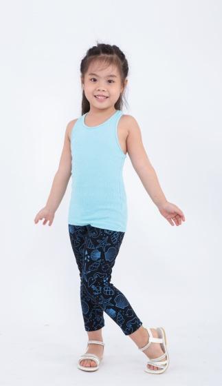 Quần leggin bé gái Ugether UKID156 (Đen)