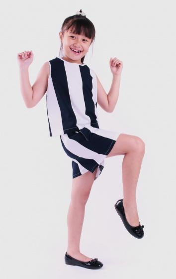 Đồ bộ bé gái sọc lớn - UKID56