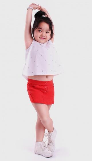 Áo crop-top bé gái - UKID61