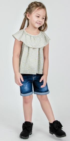 UKID82 - Áo kiểu bé gái
