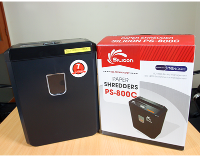 Máy hủy tài liệu Silicon PS-800C