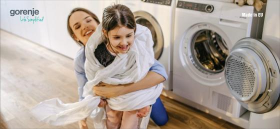 Máy giặt cao cấp Châu Âu Gorenje W8844I