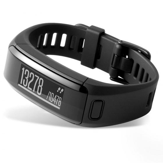 Đồng hồ thông minh Garmin Vivosmart HRR - Đen