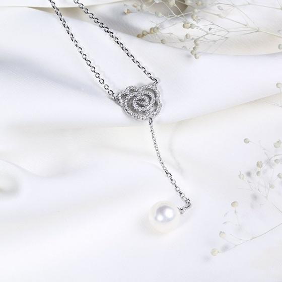 EROPI-Dây chuyền bạc Princess Pearl
