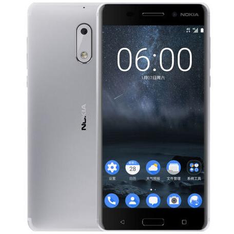 Nokia 6 - Bạc