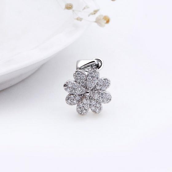 Bộ trang sức bạc White Flower - Eropi Jewelry