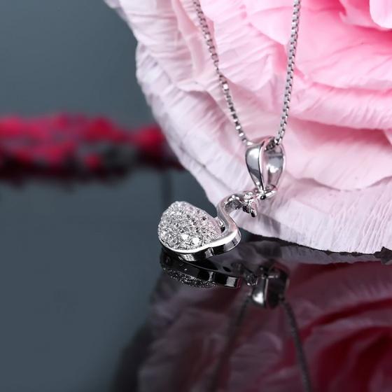 Mặt dây chuyền bạc Gnar Love - Eropi Jewelry