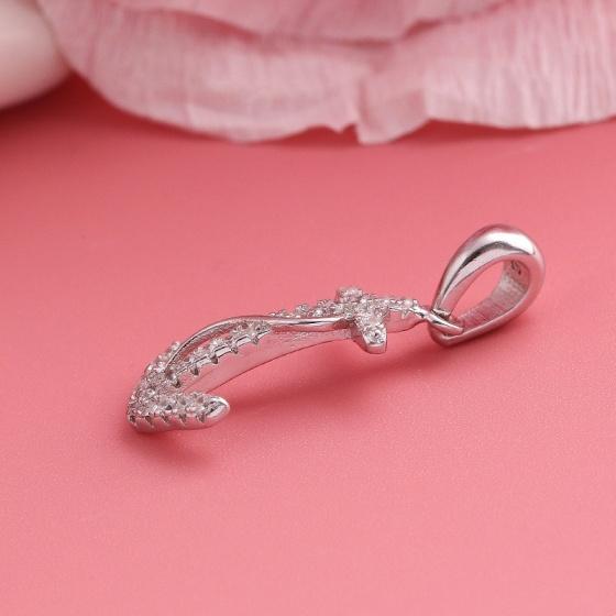 Mặt dây chuyền bạc Riven Love - Eropi Jewelry