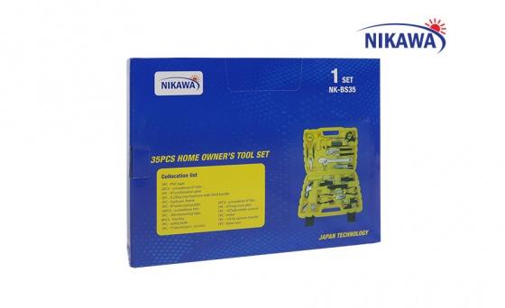 Bộ dụng cụ sửa chữa đa năng Nikawa 35 món NK-BS035