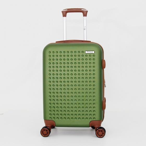 Vali Trip P803A size 60cm (24 inches) xanh rêu (tặng áo vali)